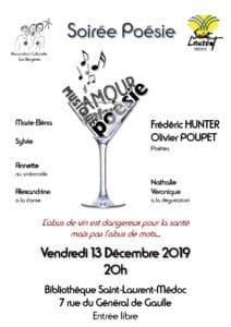 soirée poésie - spectacle - association culturelle les bergères