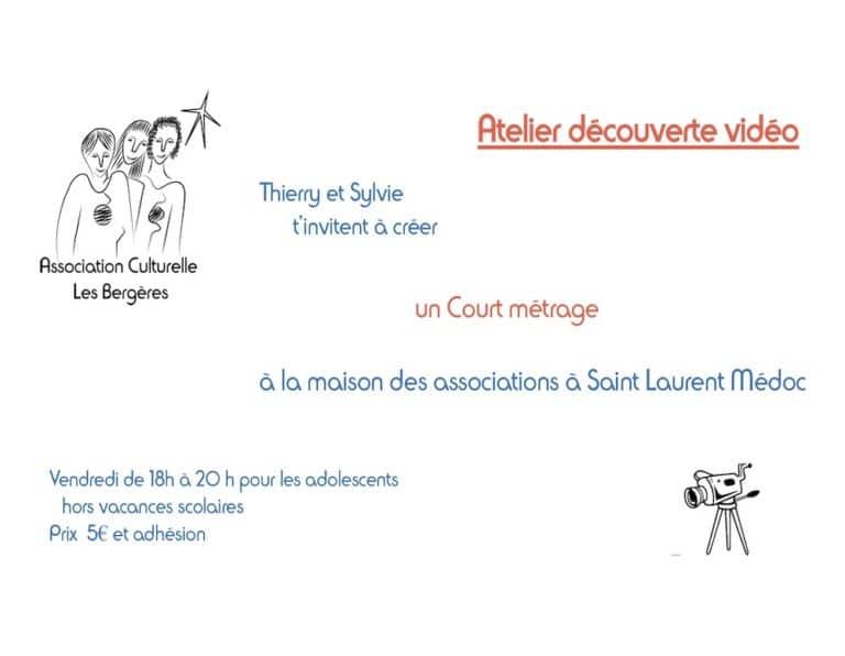 actualité - Projet vidéo 2019 - association culturelle les bergères