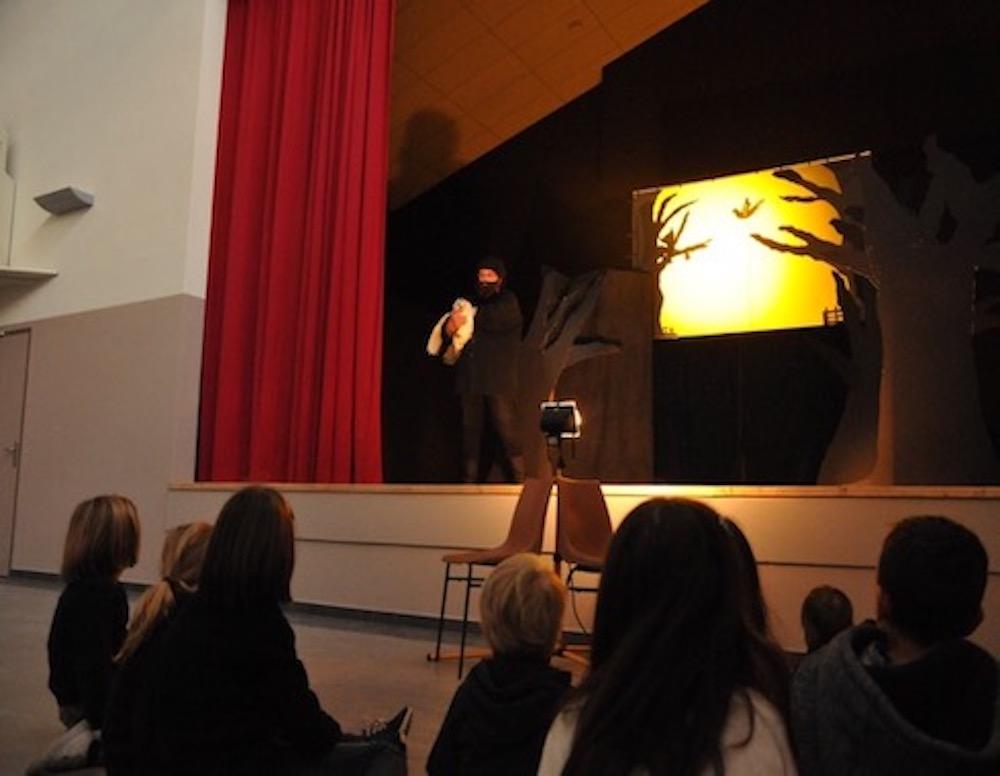 Théâtre ombre 3 - Création Les Bergères