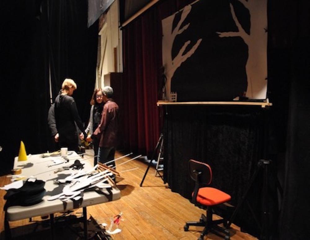 Théâtre ombre 4 - Création Les Bergères
