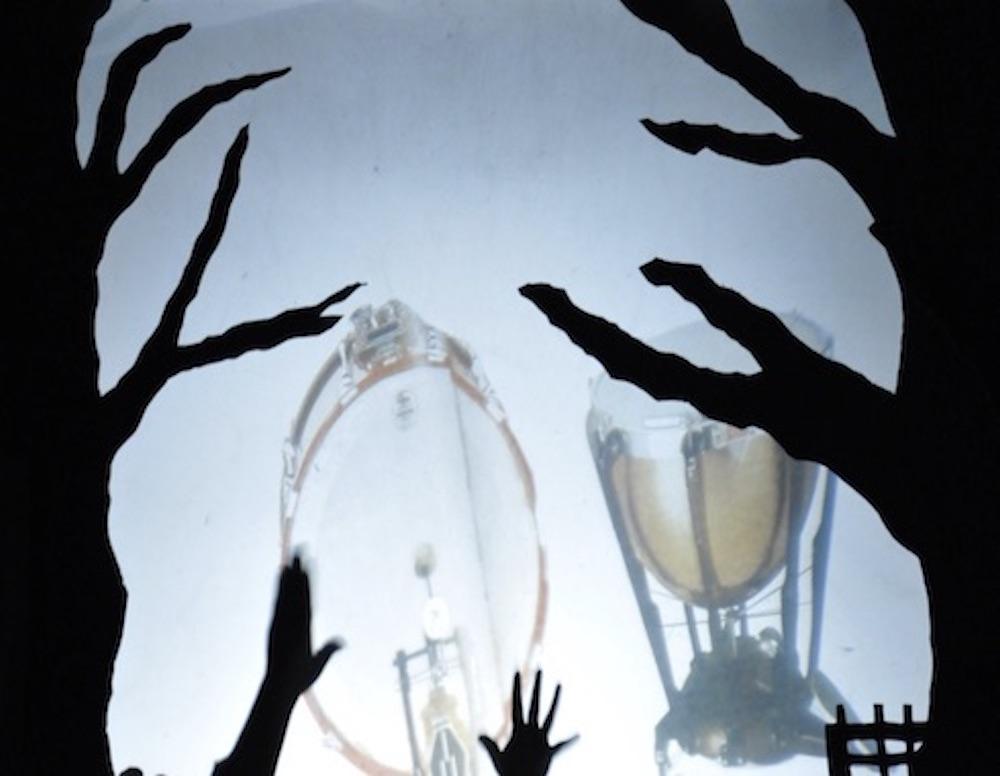 Théâtre ombre 5 - Création Les Bergères